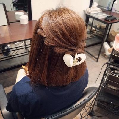 いつも可愛い系ですが、今日は綺麗めのハーフアップにさせていただきました * #宮崎市ヘアセット #宮崎市 #ヘアセット専門店 #セットサロン #ヘアセット #ヘアアレンジ #ボブアレンジ  #ブライダル #ブライダルヘア #結婚式 #結婚式ヘアアレンジ #結婚式ヘア #ねじりアレンジ #宮崎市セット #hair #hairset #hairstyle #hairarrange #宮崎美容室 #宮崎市STELLA #宮崎市セットサロン #宮崎市美容室 #日本中のプレ花嫁さんと繋がりたい #おしゃれ #オシャレ #宮崎市結婚式 #ボブ #宮崎 #ハーフアップ