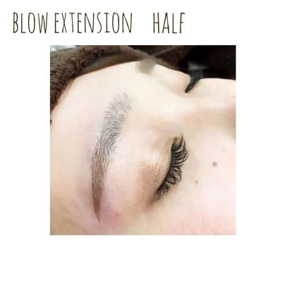 時代は #眉毛エクステ に! ただいま#眉エク メニュー化に伴い、モニター価格!!#眉毛エクステ メニュー半額にて施術中今だけです!! 8月のご予約埋まりやすくなっております。お早めのご予約をお勧め致します⭐︎