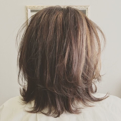 オトナ髮♡ #三原市美容院 #三原市美容室 #アジールヘア