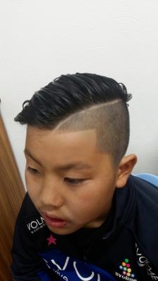 #クリスティアーノ・ロナウド髪型 #キッズ