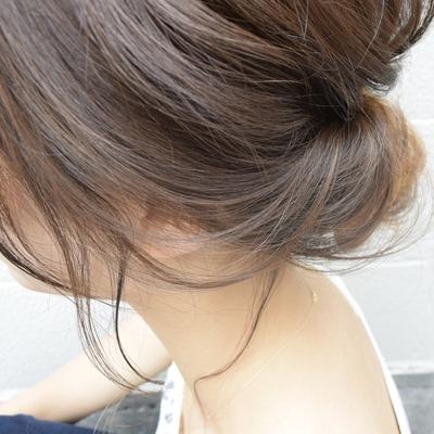 後れ毛が決め手 #くるりんぱ #ヘア#ヘアアレンジ #大人