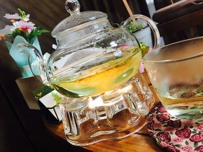 よもぎ蒸し中に飲んで頂けるハーブティー。10種類の中から選んで頂けます。 #ハーブティー#リラックス#癒し