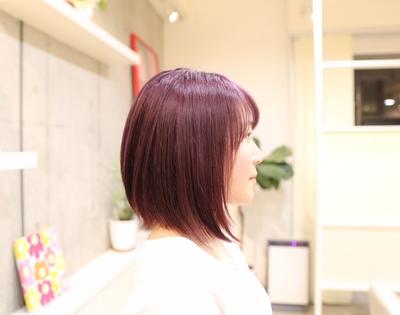 ピンクアッシュ(ピンク紫)✨ 小学生の時からご来店して頂いてるお客様です♡  光の加減でピンクや紫に見えます!  今回は黒髪から傷まないブリーチを2回してから、ピンク系カラーをさせて頂きました(^ ^) 気に入って頂けたら嬉しいです(๑˃̵ᴗ˂̵) 詳しくはHP(http://www.splash-j.com/)のブログをご覧ください。  #ピンクアッシュ #ピンク紫 #ピンクむらさき #紫 #ムラサキ #イルミナカラー #イルミナカラートワイライト #アデクシー #オルデーブ #前下がりボブ #ボブ #ナチュラルボブ #名古屋 #美容室 #美容院 #名古屋市北区 #名古屋市東区 #名古屋市守山区 #春日井 #シーソー #seesaw #おしゃれ #撮影 #サロンモデル  #デザインカラー #平安通 #上飯田 #大曽根 #ブリーチ #外国人風カラー
