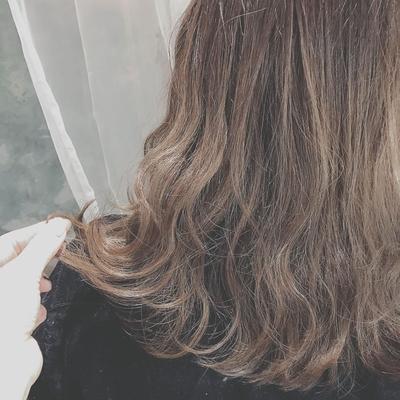 #外国人風カラー  #暗髪  #アッシュグレージュ  #グラデーションカラー