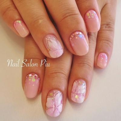 #桜 #桜ネイル #春ネイル #ピンク