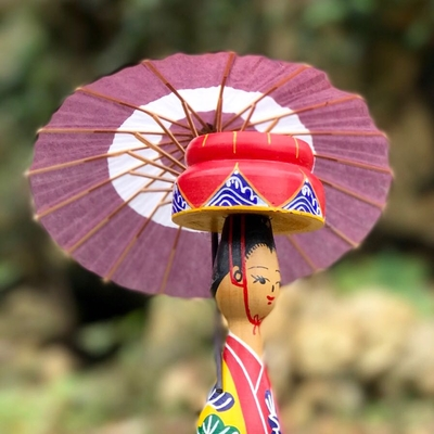 沖縄伝統からじ結 ちゅら美人