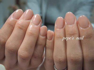 肌になじむワンカラー♡ ・ #pepesnail #nail #nailart #nailstagram #gelnail #nails  #paragel #pregel#vetro#bellaforma #handnail#ネイル #ネイルアート #ハンドネイル #春ネイル#シンプルネイル#オフィスネイル#グラデーション##ワンカラー#自宅ネイル#大分市