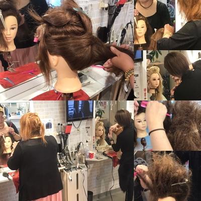 https://t.co/8qVpFR0Qxi メニューはこちら⬆  #広島 #8LAMIA8 #JHSS広島校 #ヘアメイクスクール   逆毛のレッスンで ウイッグちゃん頑張ってくれました!^_^  初心者から美容師の方まで、安心して学べ 専門知識、技術を習得出来て 就職までサポートいたします。^_^    ラミアは24時迄営業の美容室です! お仕事帰りなどに便利になりました^_^  *20時以降のご予約は2日前迄の受付になります。      ※ #8LAMIA8#JHSS広島校#24時まで営業#カット#カラー#パーマ、#縮毛矯正#エクステ#ヘアセット#増毛エクステ#メイクレッスン #ネイル#着付け#衣類#装飾品販売!  トータルコーディネートサロン 8LAMIA8(ラミア)  https://t.co/T1bVdX4mCu