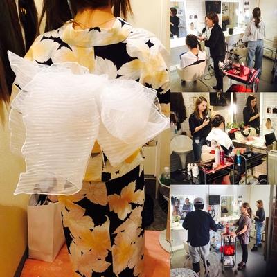 https://t.co/8qVpFR0Qxi メニューはこちら⬆  #広島 #8LAMIA8 #とうかさん祭り #ヘアメイク #着付け  今年も皆様のおかげで無事にとうかさん祭りの浴衣ヘアメイク、浴衣着付けが終わりました!  来店頂いたお客様 時間を作ってくれた美容師さん、着付けの先生 最後まで残って色々なことを配慮してくれたメイクさん ありがとうございました 感謝しておりますm(__)m  8LAMIA8(ラミア)  https://t.co/T1bVdX4mCu