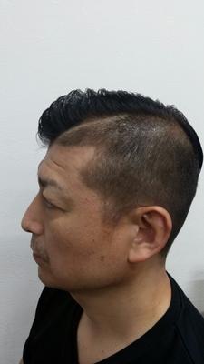 #クリスティアーノ・ロナウド髪型