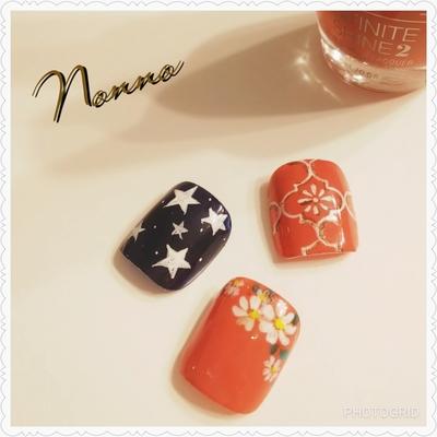 エナメル用デザイン♥️  #フラワーネイル #ネイル #ネイルサロン #花柄 #フットネイル #新宿ネイルサロン#西新宿 #新宿 #美甲 #指甲 #nail #nailart #nailsalon #nails #パラジェル登録サロン #Nonno #nonno #エナメル #Shinjuku #Japan