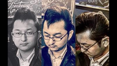 "Quiff.  金沢市で「フェードカット 」「ポマード」「メンズカット」のことは金沢駅近く バーバーショップ ""スピークイージー,,へ  #大人紳士の通うバーバー http://barber-speakeasy.crayonsite.net  #金沢バーバー#スピークイージー#金沢駅周辺#理容室#床屋#メンズカット#フェードカット#スキンフェード#バーバースタイル#夜遅くまで営業#オシャレ#barber#barbershop#金沢バーバースタイル ##金沢市バーバーショップスピークイージー #金沢市スキンフェード#金沢市バーバーショップ"