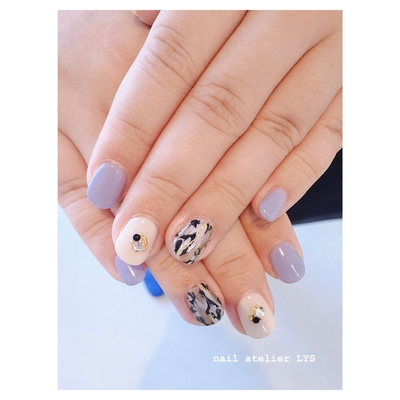 ご予約はこちら☟ https://nailbook.jp/nail-salon/25076/   Instagram☟フォローお願いします♥️ https://instagram.com/nailatelier___lys?utm_source=ig_profile_share&igshid=1e72b7tx2rhyv