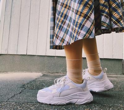 足もとレイヤード #ファッション #名古屋 #一宮 #岐阜 #パーソナルカラー #おしゃれ #コーディネート