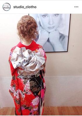 振袖(お持込)着付け+ヘアセット  #京都#祇園#kyoto#セットサロン #京都セットサロン #studioclotho#スタジオクロト #ヒロstudio #プライベートサロン    #ヘアアレンジ #ヘアメイク#アーティスト#美容師 #ファッション#モデル#カメラ #ナチュラル#ルーズ#エアリー #かわいい#おしゃれ#おしゃれさんと繋がりたい  #アップスタイル #ブライダル#結婚式 #イベント#パーティ #振袖ヘア #振袖