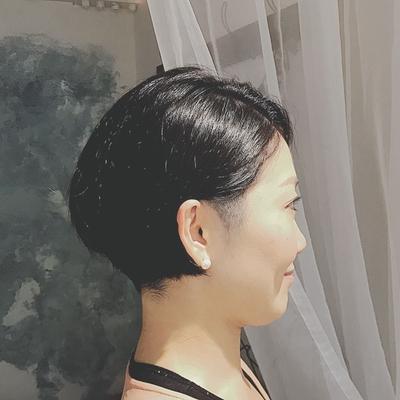#黒髪ショート  #大人ショート #ツーブロック  #刈り上げ  #プライベートサロン  #nanon