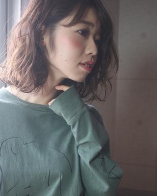 ✂︎カジュアルおされ  #カジュアル#巻き髪#モード#パーマ#オイル#カラー#ツヤ髪#ミスチル美容師