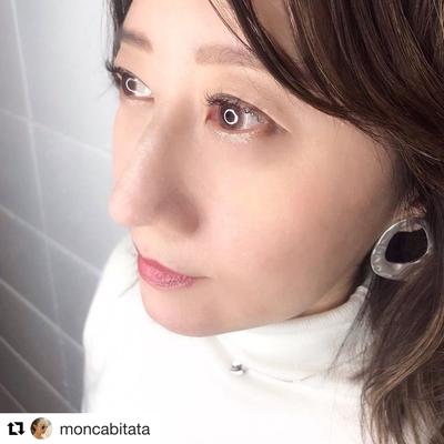 インスタグラマーのたーた様 @moncabitata がAn'meにご来店♪ 初めてボリュームラッシュをご体験頂きました! #インスタグラマー #モデル #マツエク #ボリュームラッシュ #まつげエクステ #インフルエンサー #睫毛 #まつげ #3Dラッシュ #美容 #美意識 #美容好きな人とつながりたい