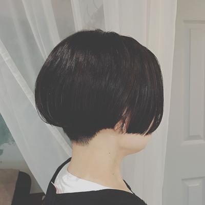 #刈り上げショート  #黒髪ショート  #プライベートサロン  #nanon  #ツーブロック