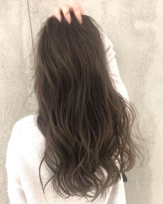 cut:ロブスタイル color:カーキ  #神戸 #三ノ宮 #haircut #highlight  #hairstyle #ヘアカタ #グレージュ #ミルクティー #外国人風カラー #イルミナカラー #ハイライト #サロモ #キャンペーン  #color #ダメージレスブリーチ
