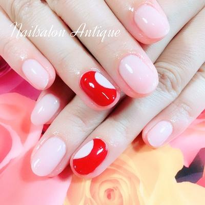 美肌カラーにレッド&ピンクが大人オシャレ✨ ・ ・ いつもありがとうございます😊💕