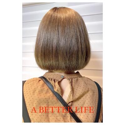 細やかな毛質を生かすために、今回は重めの#ノーレイヤー 🎶(段を入れません)フォルムと切り口のラインを出した#ワンレングスボブ(#onelengthbob )  特に襟足や顔周りに生え癖のある細毛で多毛の方はオススメ☆  帰国したばかりの#ハイトーン でもパサつきを感じさせない、とっても艶のある印象を与えますね🎶  #hairset#hairarrange#hairstyle #小倉#小倉美容室  #小倉南区 #小倉南区美容室#守恒#守恒本町#守恒美容室#守恒本町美容室#小倉南区守恒本町 #ABETTERLIFE#abetterlifehair#ABETTERLIFESTYLE#小倉#ボブ#Canada 👉#California 👉#Mexico 👉#hawaii#ボブ #ヘア