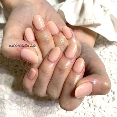 . #ネイル#ジェルネイル#nail#nailart #nailist#大人ネイル#大人可愛い#💅🏻 #シンプルネイル#simple#officenail #艶#ワンカラー#pink#ベビーピンク #お客様ネイル#instanail#Nailbook #tredina#nailistagram#奈良#🏡 #自宅サロン#お家ネイル#Luce.