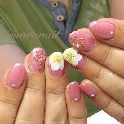 #お花ネイル 💕💅✨ いつもありがとうございます⸜(*ˊᵕˋ*)⸝💕✨ ( ⸝⸝⸝ᵒ̴̶̷ωᵒ̴̶̷⸝⸝⸝)💗💗 #アイニティジェル  RP05P  #フラワーネイル #スワロフスキー #ネイル #ネイルアート #ネイルデザイン #flowernail #swarovski #nail #nails #nailstagram #nailart #naildesign #おしゃれネイル #帯広ネイルサロン #帯広ネイル #帯広 #札内 #幕別 #音更 #音更ネイルサロン #tokachi #hokkaido #initygel