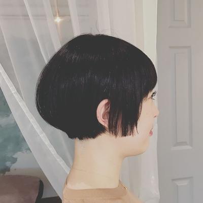 #黒髪ショート  #ショートボブ  #ショート #プライベートサロン  #nanon
