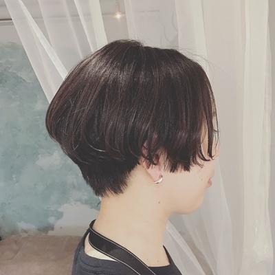 #黒髪ショート  #黒髪  #ハンサムショート  #大人ショート  #ショートヘア  #プライベートサロン  #nanon