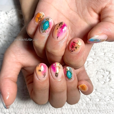 . #simplenails #officenail #summernails #kawaii  #ニュアンスネイル #タイダイ #colorfulnails #艶 #💅🏻 #nail #gelnail #nailist #nailart #naildesign #お客様ネイル #nara #奈良県 #奈良ネイルサロン #お家ネイル #自宅サロン #privatenailsalonLuce. #Nailbook #tredina #掲載 #instagram #instanail  #nailistagram #instalike #instagood #nails2019