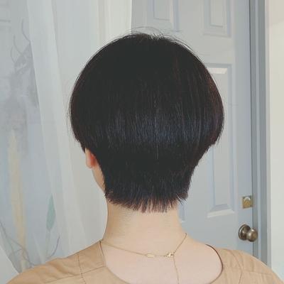 #黒髪ショート #ショートヘア #プライベートサロン #nanon
