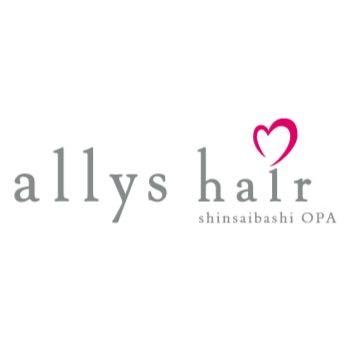 allys hair 心斎橋OPA きれい館【アリーズヘアー シンサイバシオーパ】